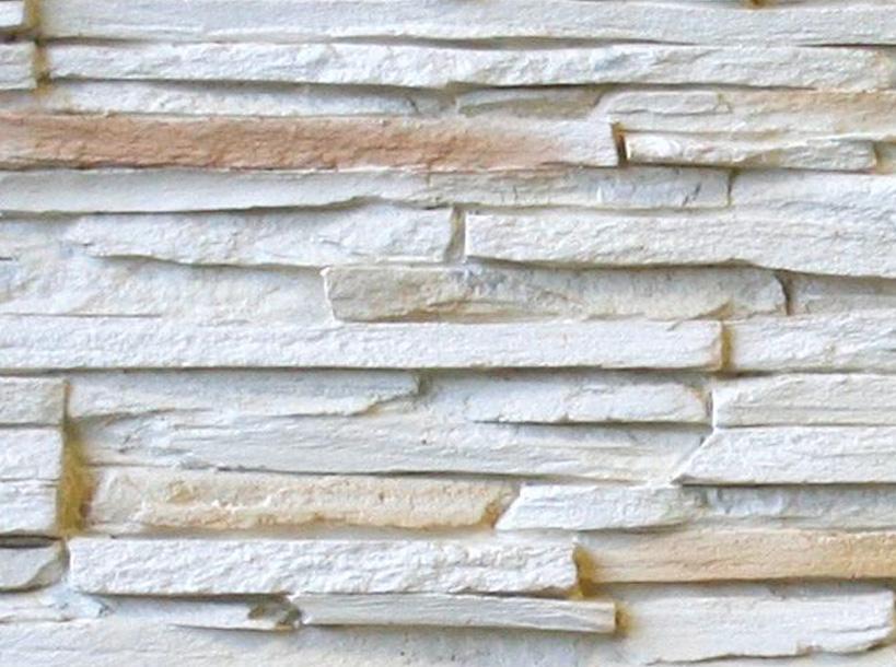 Panel piedra laja fina blanco panel decorativo panel de poliuretano - Panel piedra exterior ...