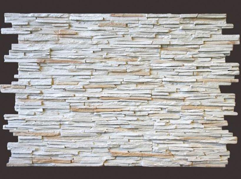 Panel piedra laja fina blanco panel decorativo panel de poliuretano - Paneles decorativos poliuretano ...
